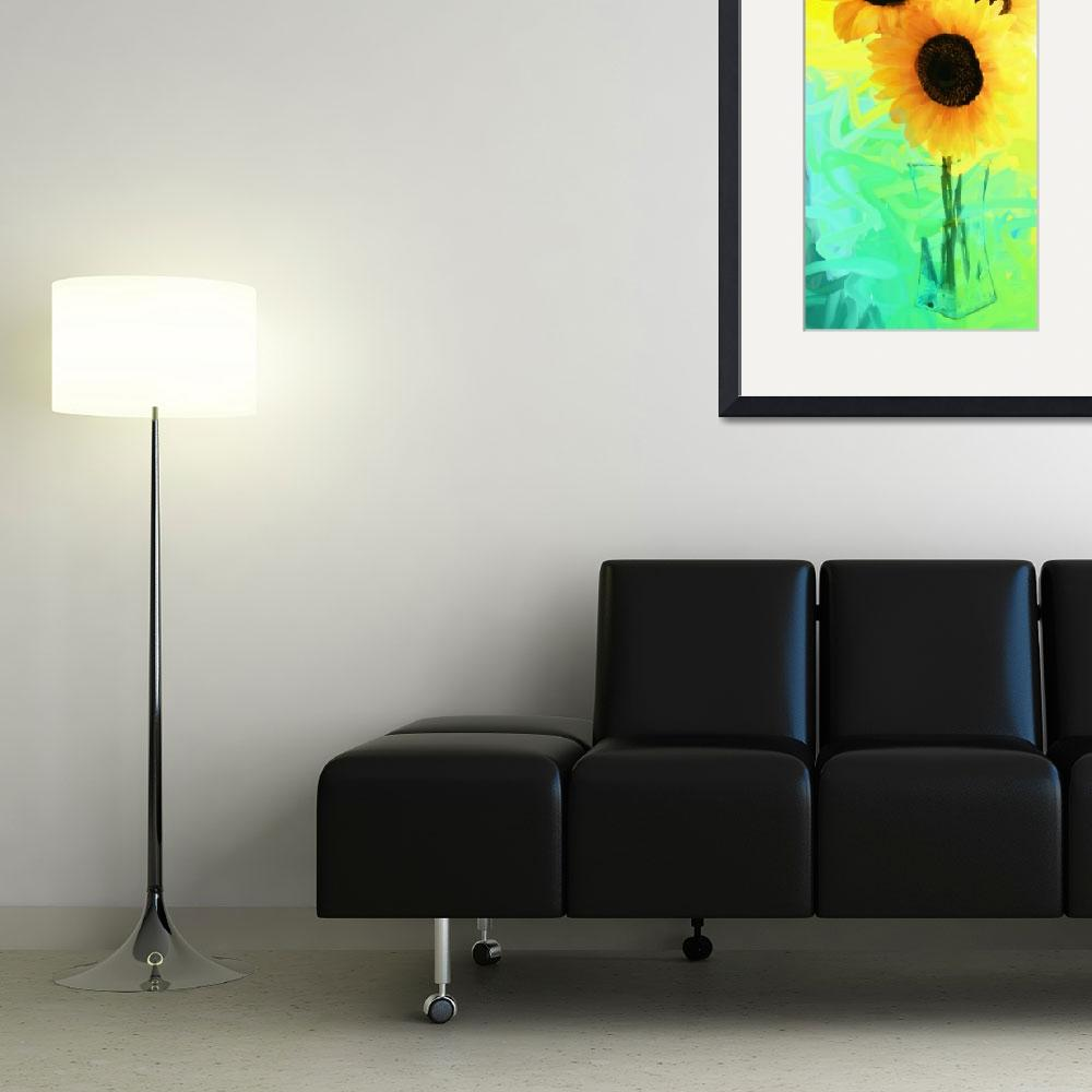 """""""Sunflowers&quot  (2010) by youbenhad2"""