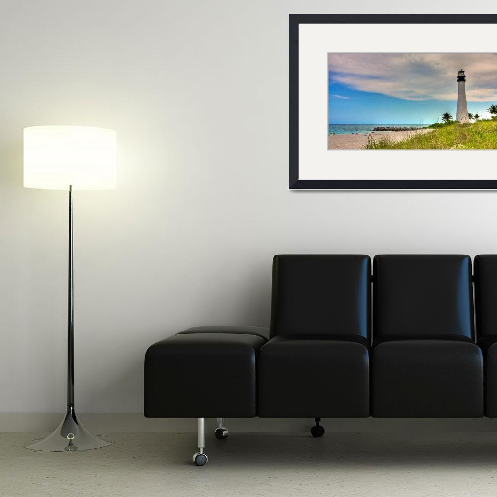 """""""Cape Florida Lighthouse&quot  (2010) by breaker"""