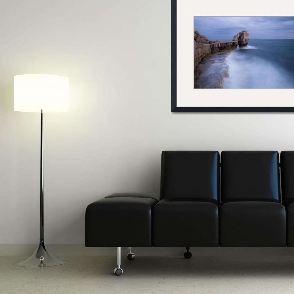"""""""Portland Bill Seascape&quot  (2010) by IanMiddletonphotography"""