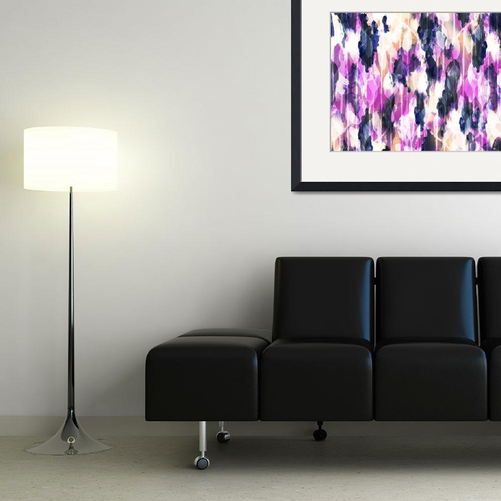 """""""Electric Garden Blue&quot  by cozamia"""