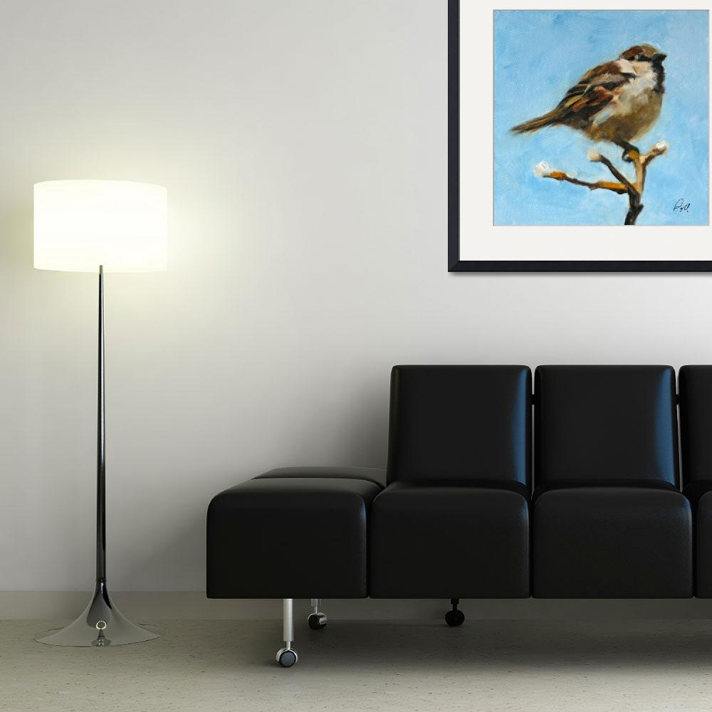 """""""Sparrow""""  by pamelapoll"""