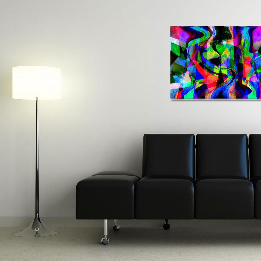 """""""Explosion of Color, Edit C""""  (2014) by nawfalnur"""