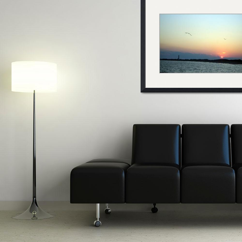 """""""Cape May Sunset&quot  (2008) by lensnation"""