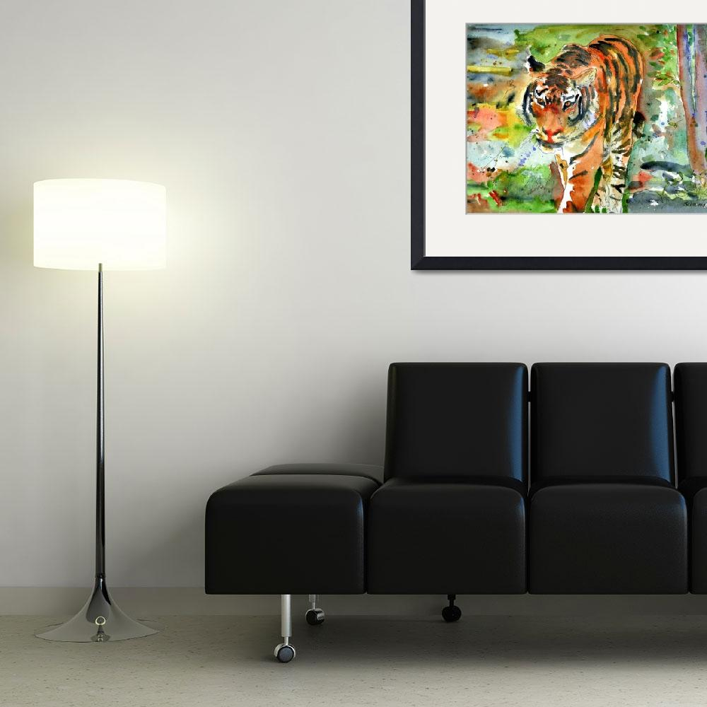 """""""Tiger Mountain&quot  (2007) by schulmanart"""