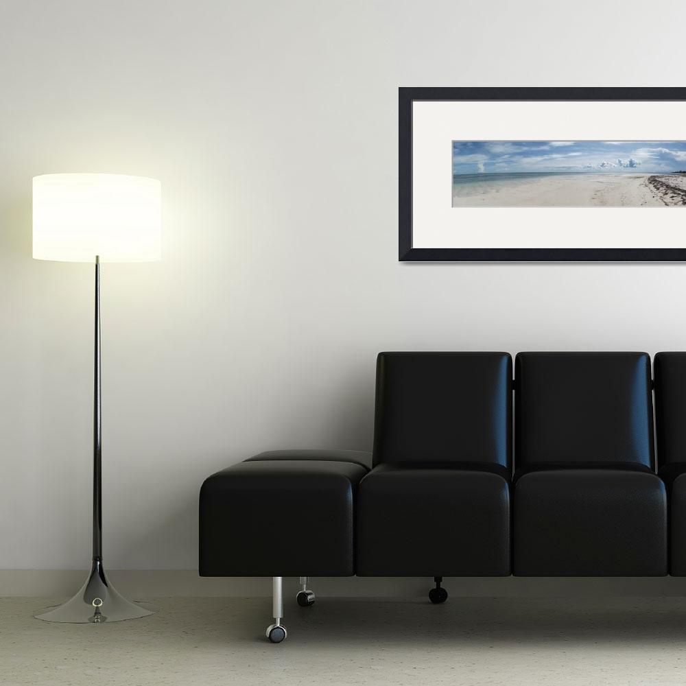 """""""10633 Beach Day Pano&quot  (2014) by PamelaWilliams"""