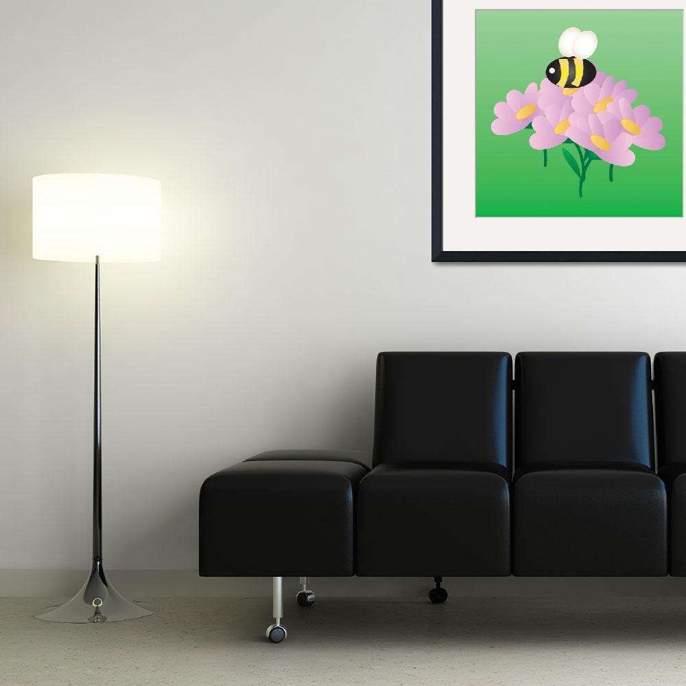 """""""One Happy Bee&quot  by Eileen"""