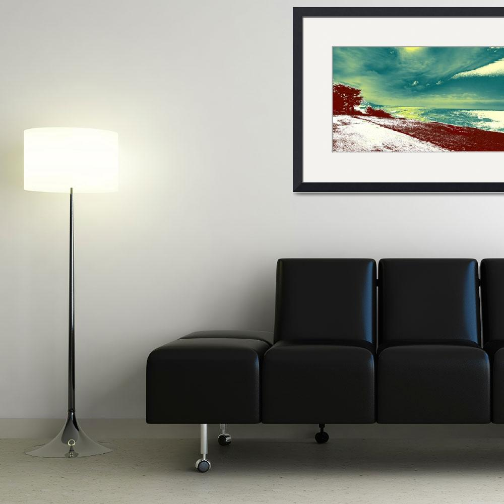 """""""Popart coastal view&quot  by Willssb"""