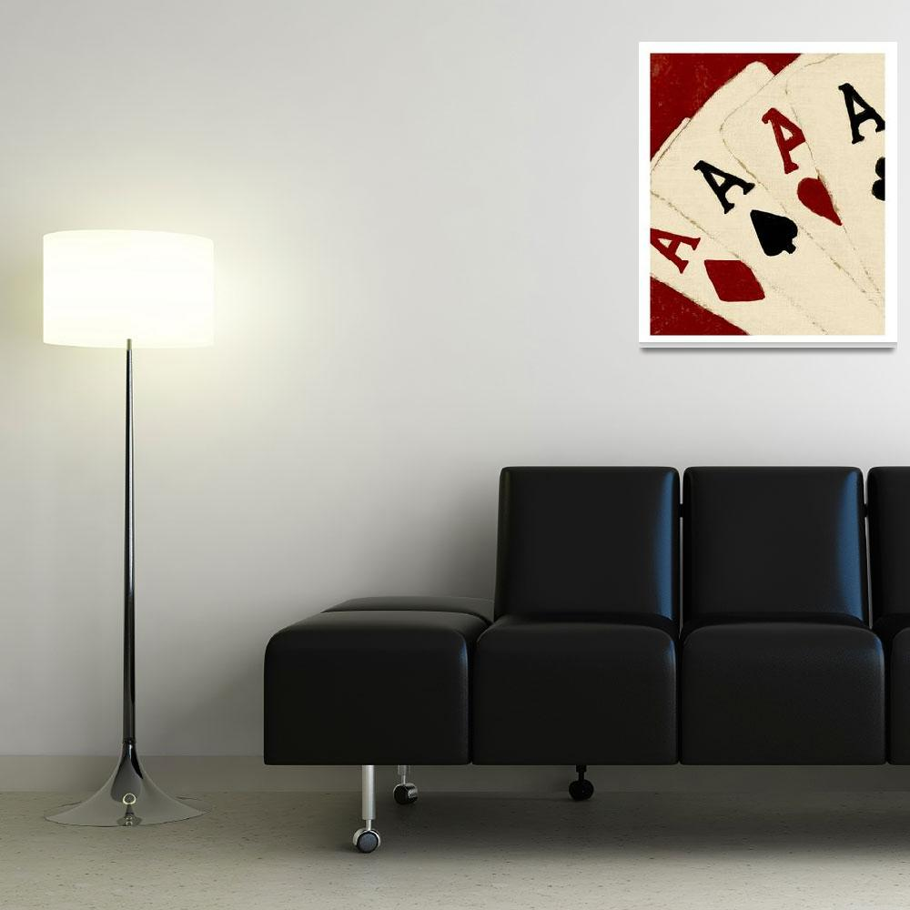 """""""ACES HIGH ON LUCKY STREAK""""  (2008) by lisaweedn"""