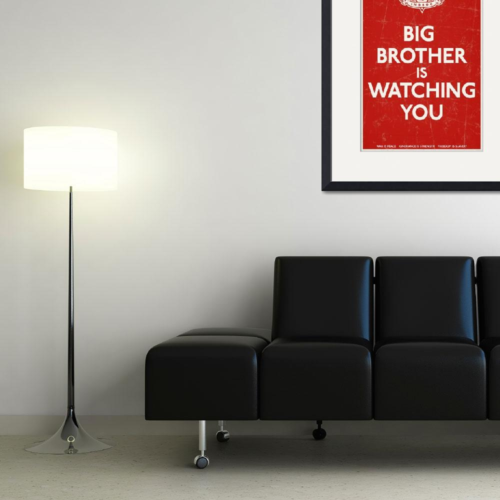 """Big Brother Is Watching You""  (2010) by libertymaniacs"
