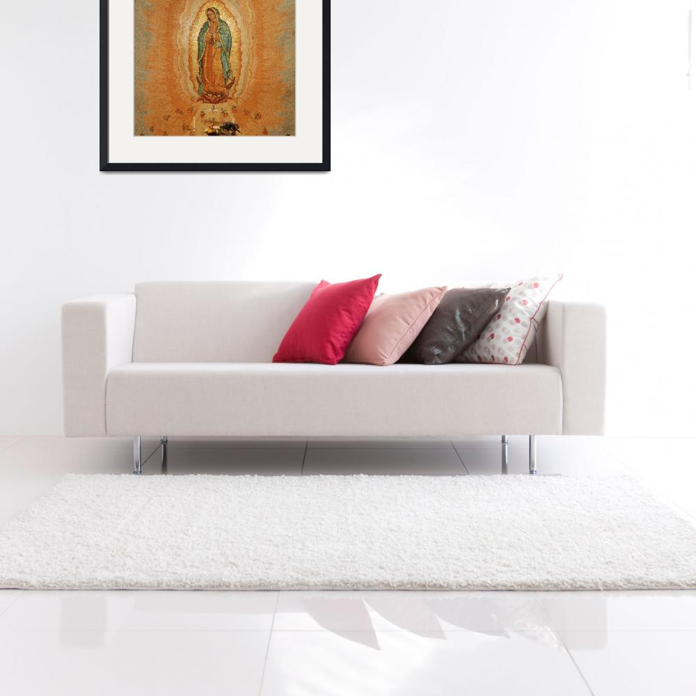 """""""Our Lady of Guadalupe&quot  (2008) by neilepi"""