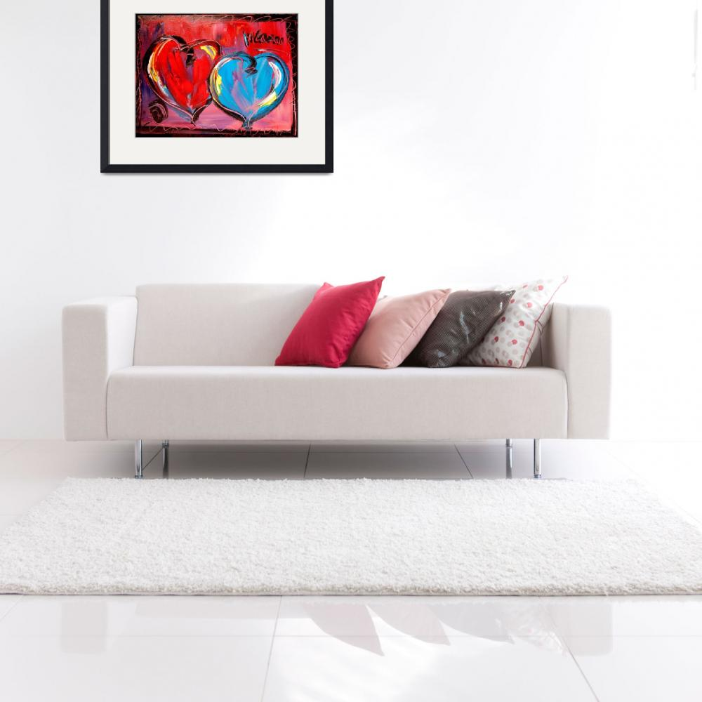 """""""HEARTS&quot  (2009) by milagallery"""