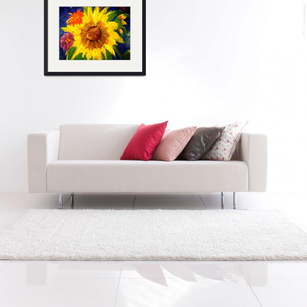 """""""Sunflowers2&quot  (2009) by magnoliadorn"""