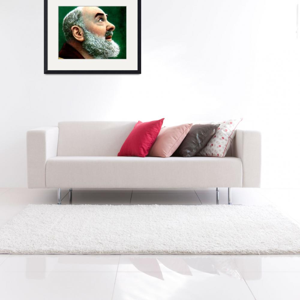 """Padre Pio&quot  (1962) by archangelus"