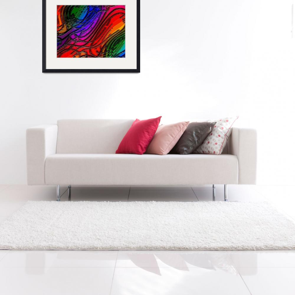 """""""Abstract Rainbows 43 EC&quot  (2012) by TheNorthernTerritory"""