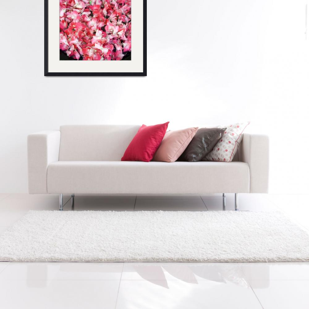 """""""Orchid Bowl Red""""  (2009) by LeslieTillmann"""