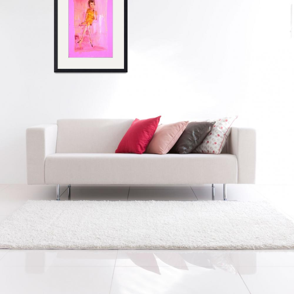"""""""Emma -The Sofa&quot  (2003) by AnnHuey"""