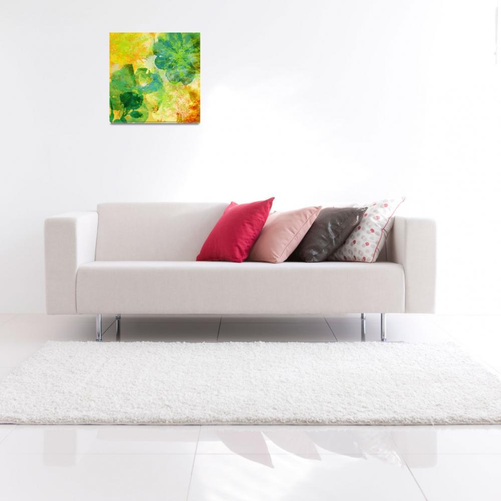 """Modern Floral II""  (2010) by rickimountain"