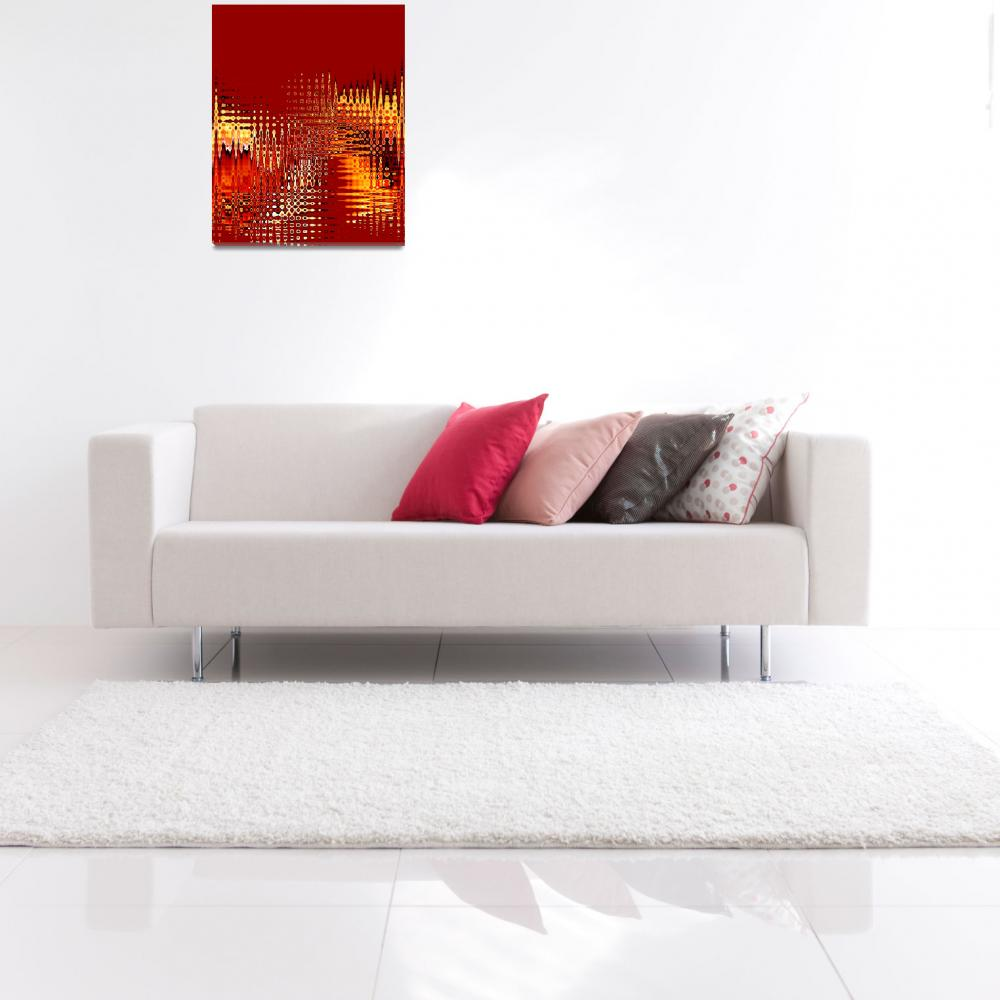 """""""Red #1&quot  by RuthPalmer"""