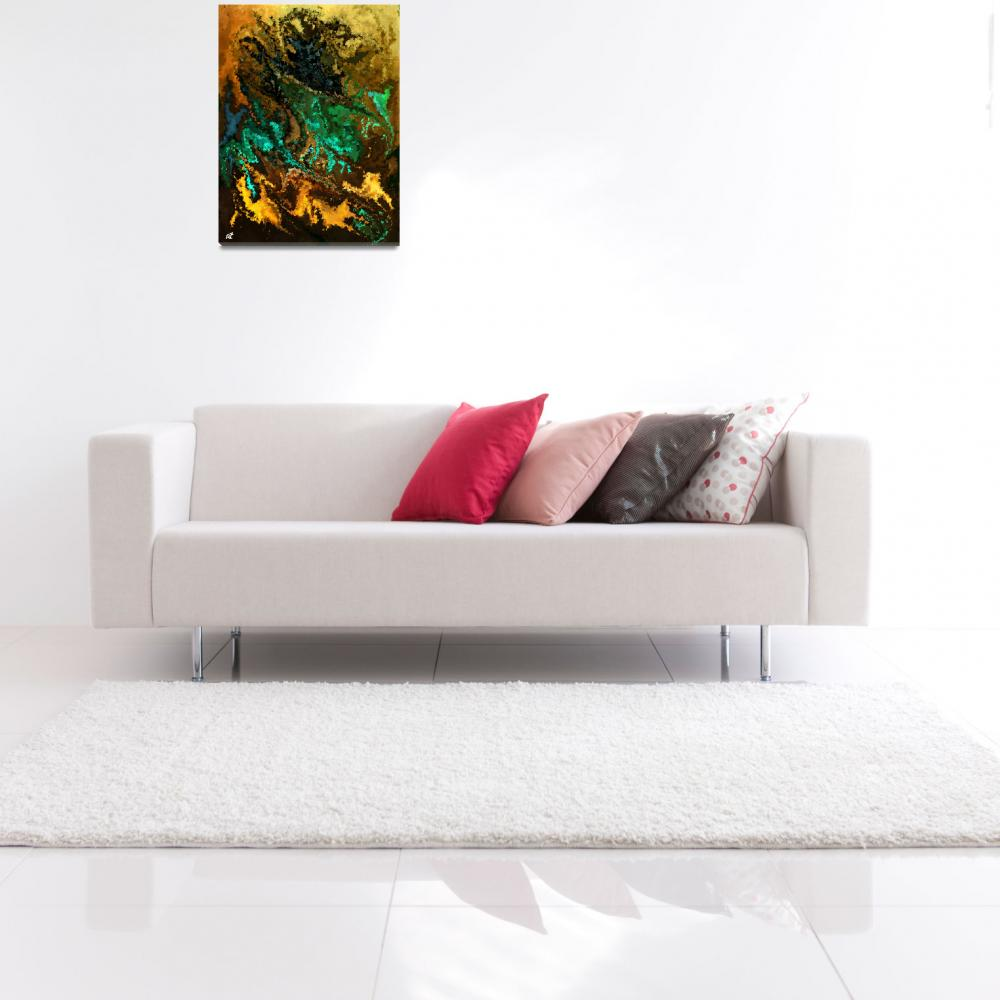 """""""Modern composition 21""""  (2010) by RT3D"""