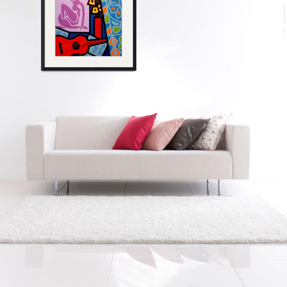 """Homage To Matisse XI&quot  by artlicensing"