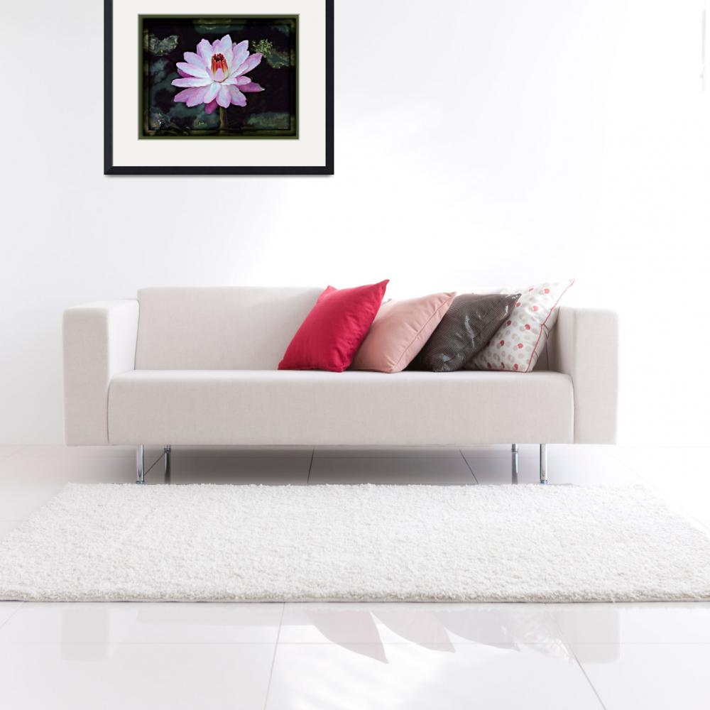 """""""Lily Dreams&quot  (2011) by ChrisCrowley"""