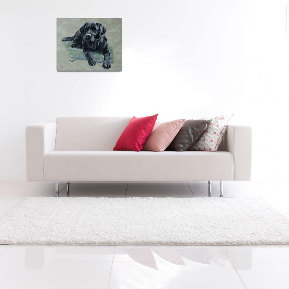 """Classic Black canvas version""  (2007) by dog-art"