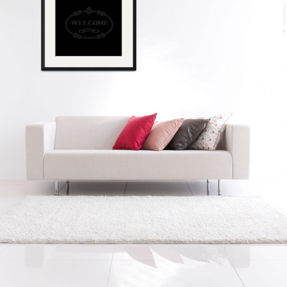 """""""Welcome Prada Throw Pillow&quot  by La_Geeg"""