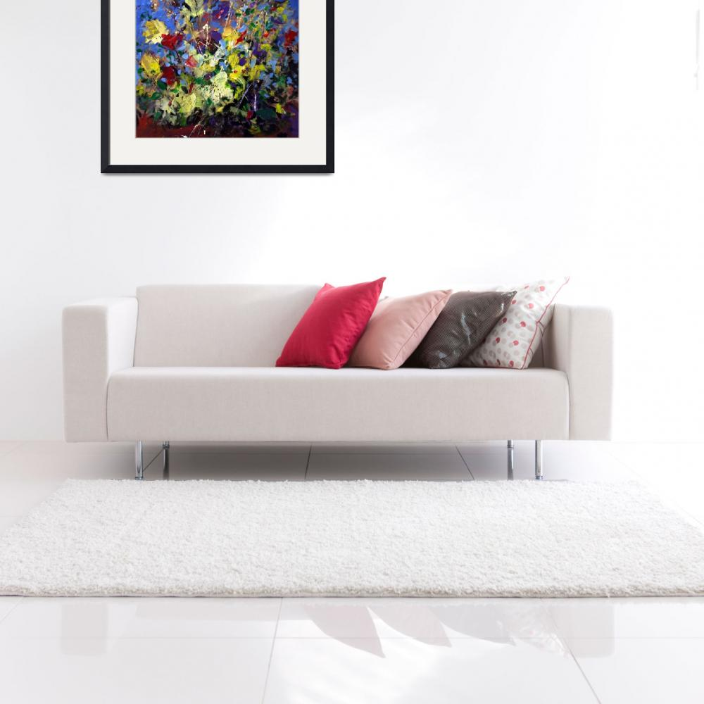 """""""Abstract Flowers Still Life""""  (2001) by zampedroni"""