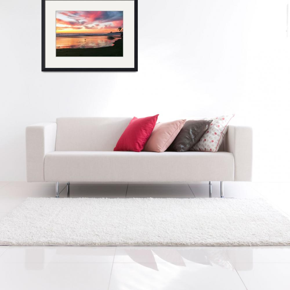 """""""Tropical Sunrise Morning Bliss Seascape C8&quot  (2015) by Ricardos"""