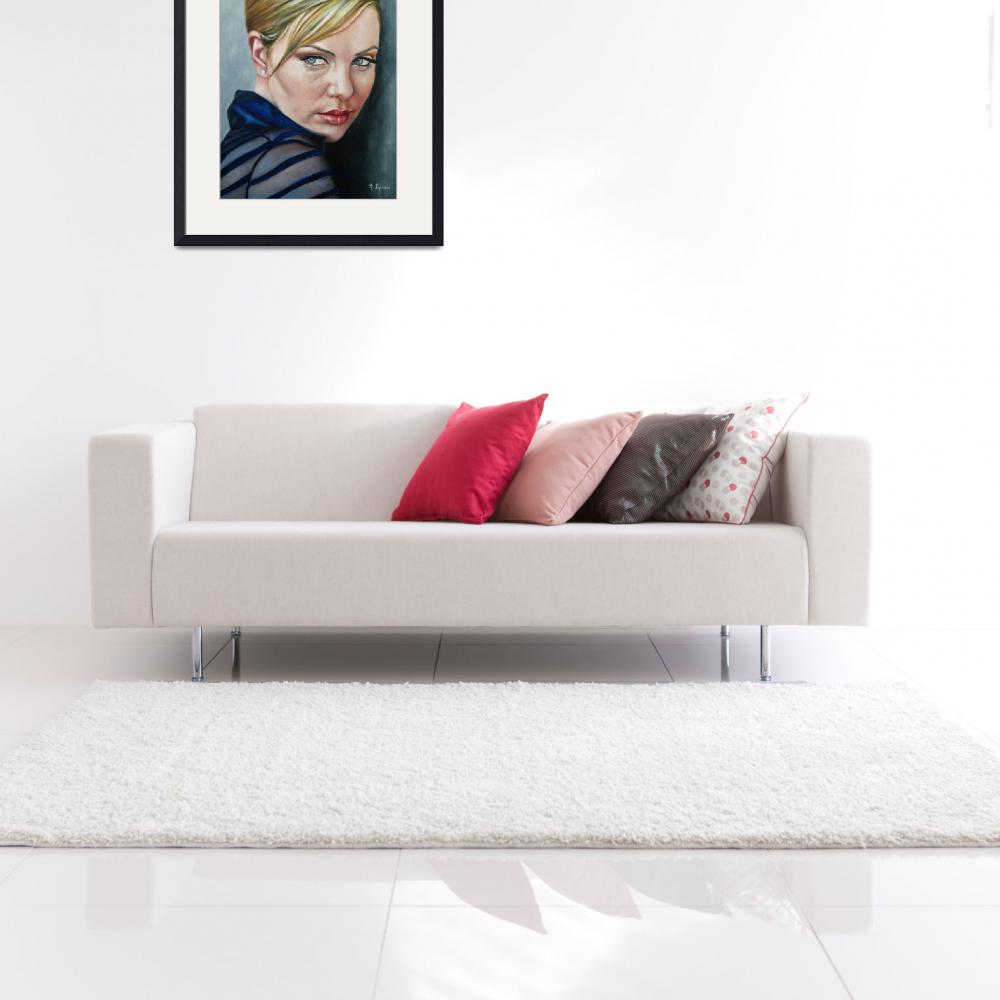 """""""Charlize Theron&quot  by agustiniglesiasart"""