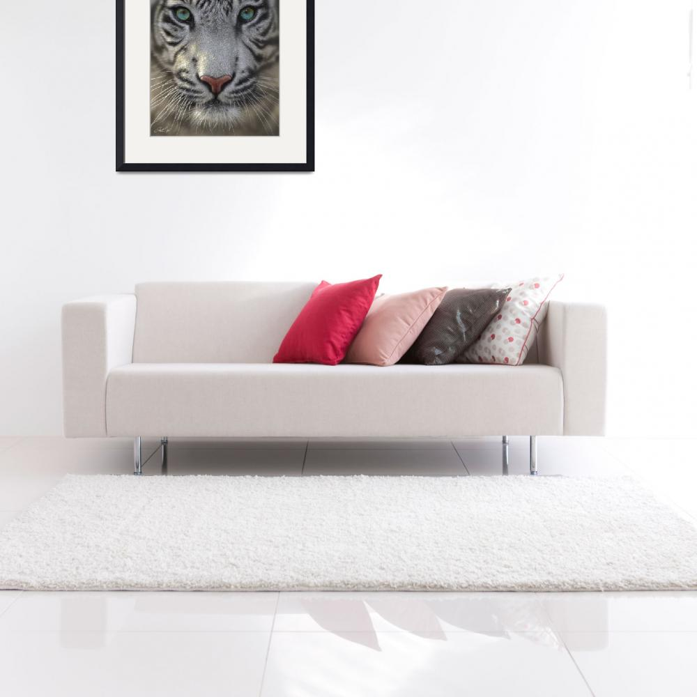 """""""White Tiger&quot  (2009) by collinbogle"""