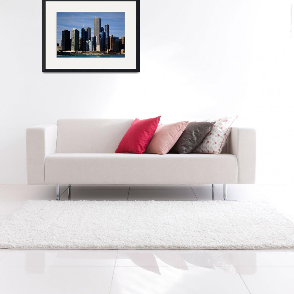 """Chicago Skyline 2010&quot  (2010) by Ffooter"