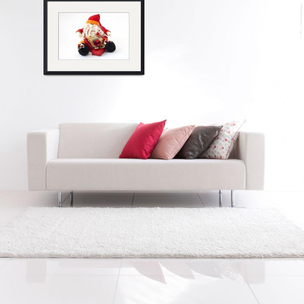 """""""Snowman Santa Claus with gifts&quot  by fotofollia"""