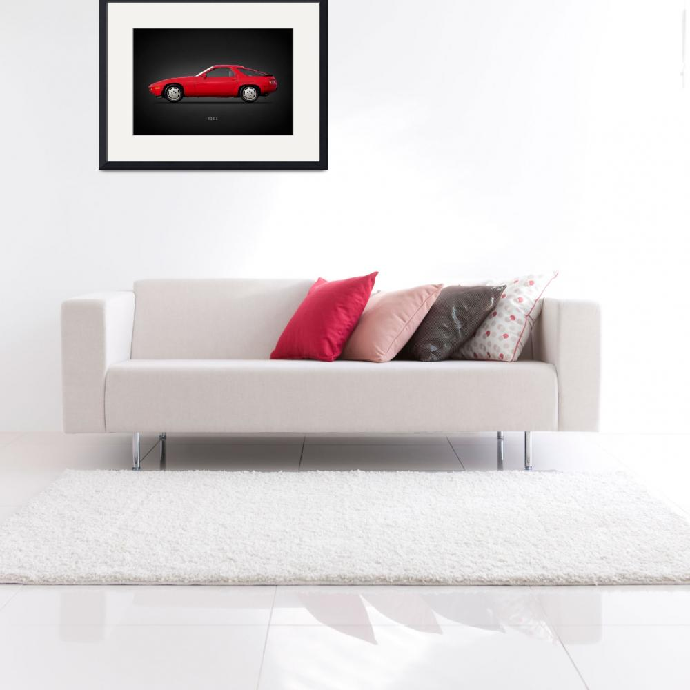 """Porsche 928 S""  by mark-rogan"