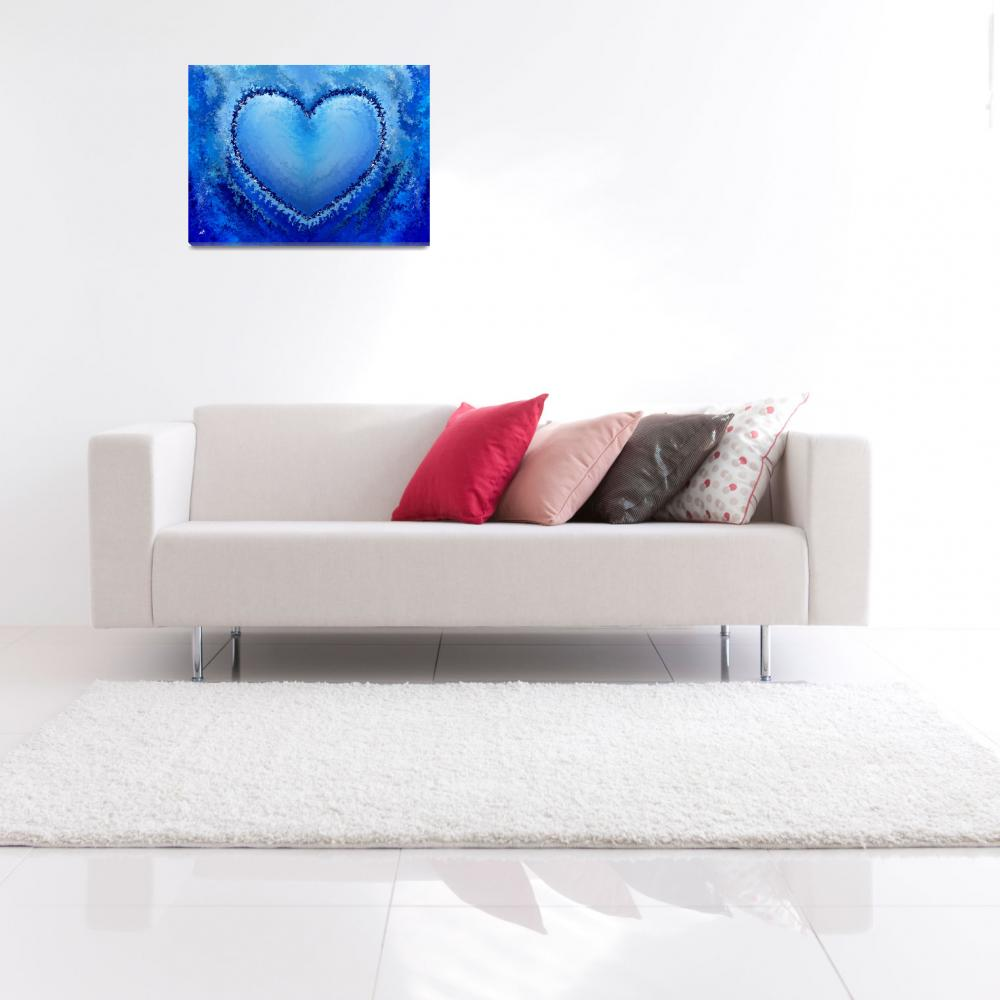 """""""Ice Heart&quot  (2011) by RT3D"""