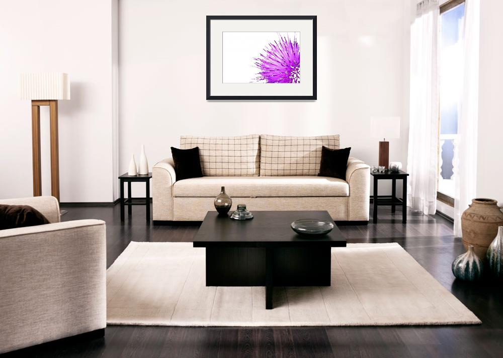 """""""Purple Thistle 3""""  (2006) by OutsideShooter"""