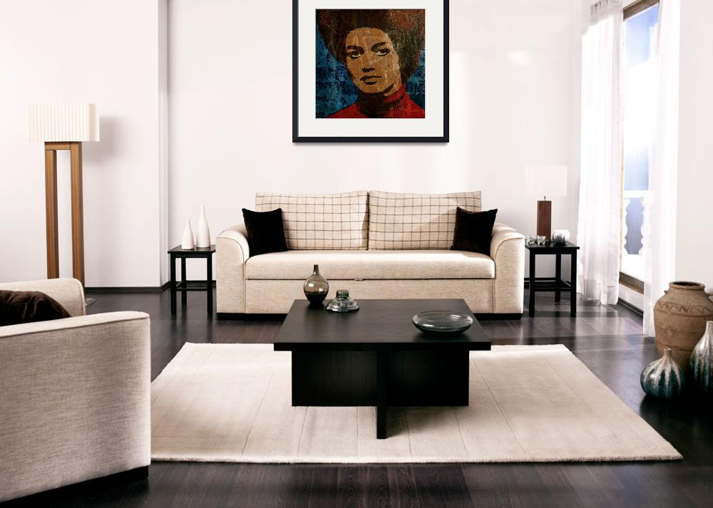 """""""KATHLEEN  CLEAVER-2&quot  (2014) by thegriffinpassant"""