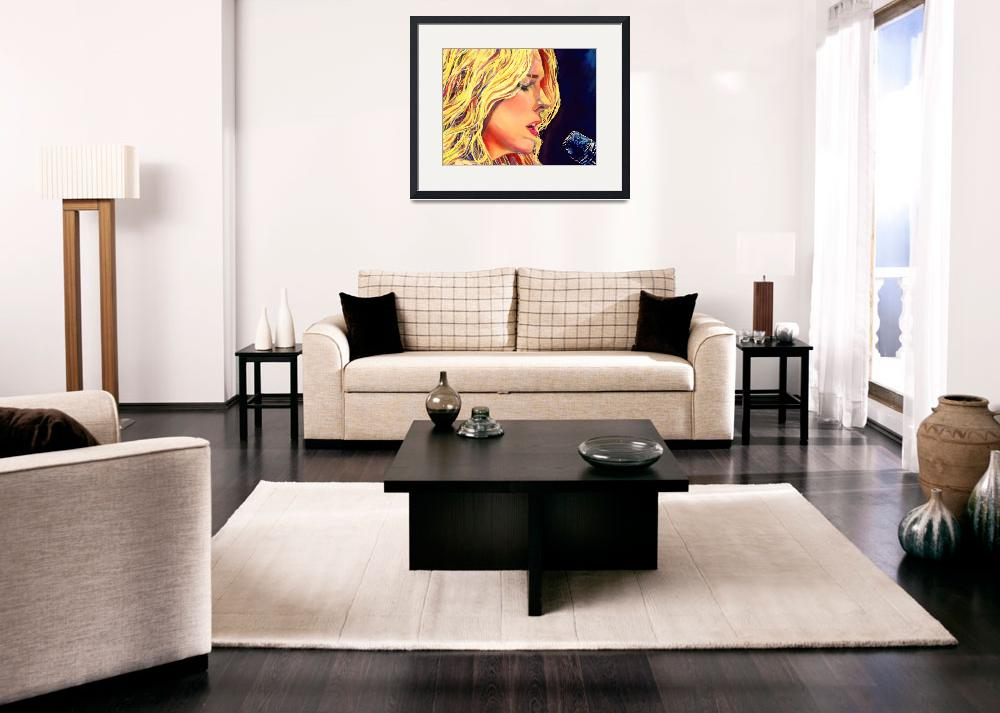 """""""Diana Krall&quot  (2014) by Vel"""