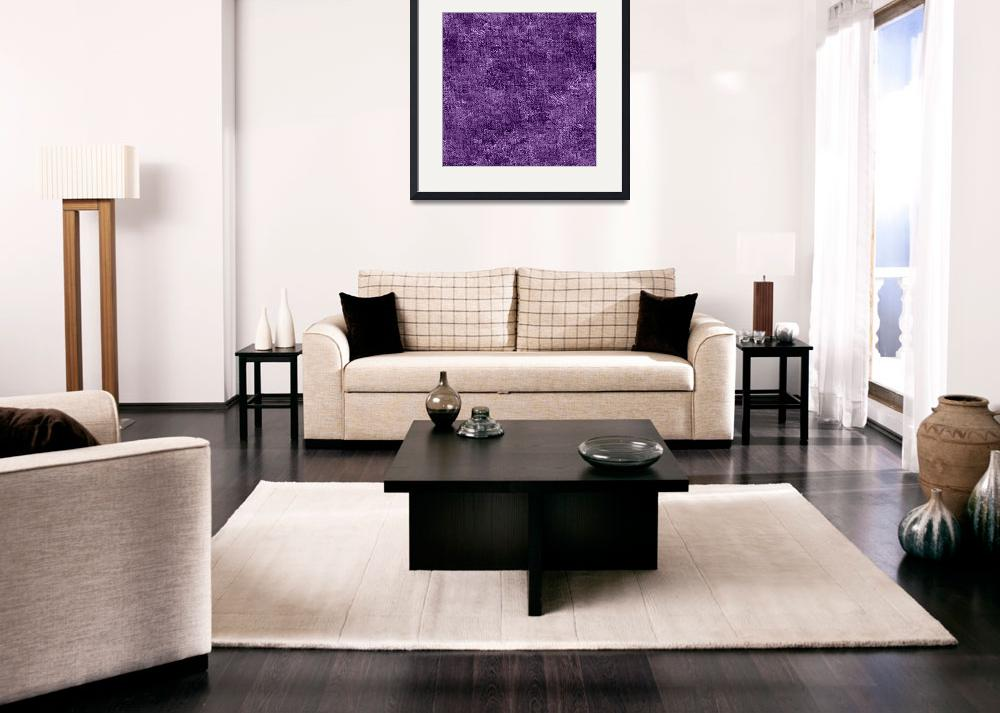 """Amethyst Orchid Oil Painting Color Accent&quot  (2014) by SaraValor"