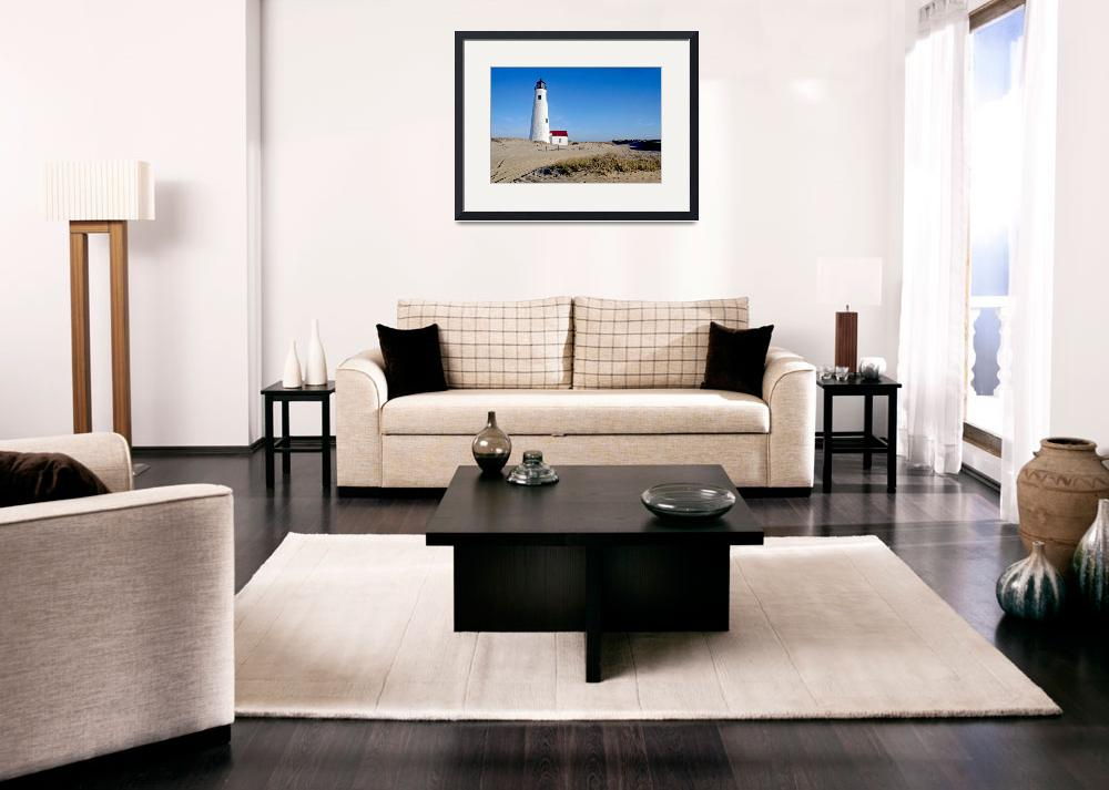 """""""Great Point Lighthouse (Nantucket, MA)&quot  (2014) by ChrisSeufert"""