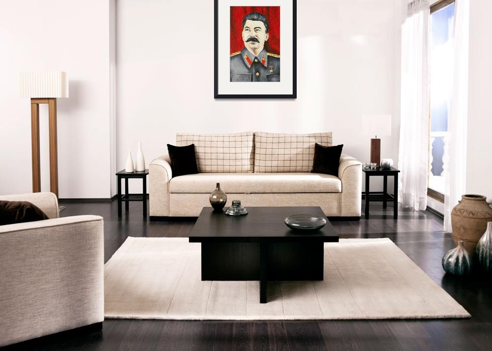 """Stalin&quot  (2010) by lamich"