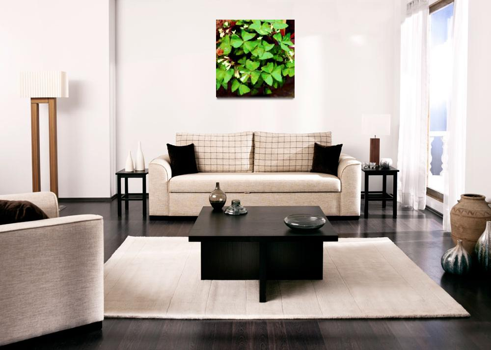 """Friends Plant Green""  (2008) by LeslieTillmann"