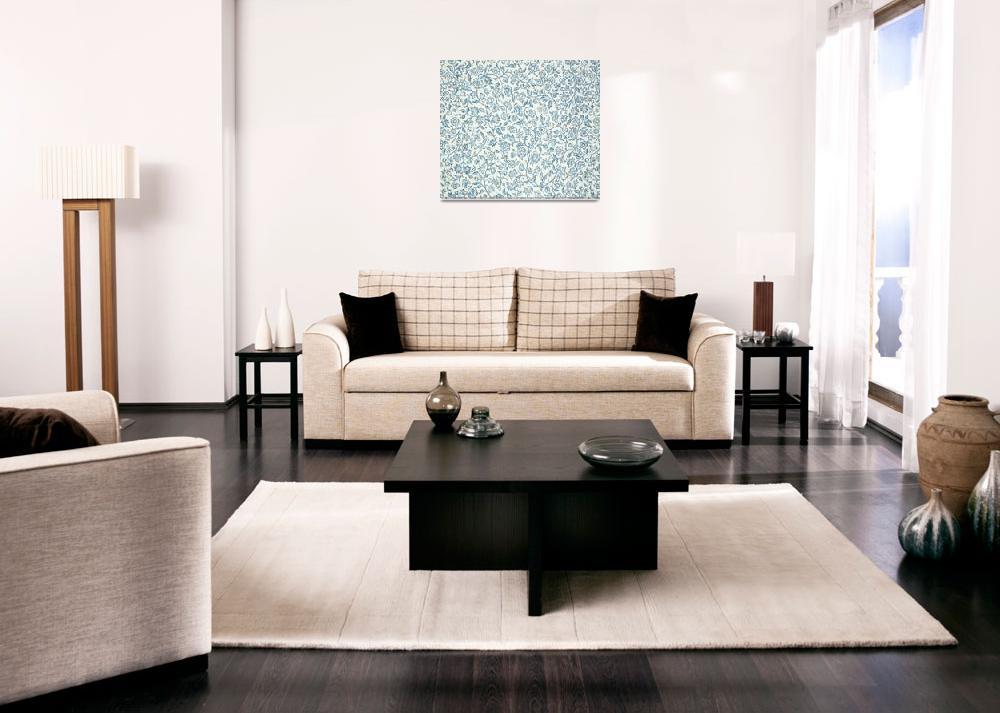 """Merton Wallpaper Design""  by fineartmasters"