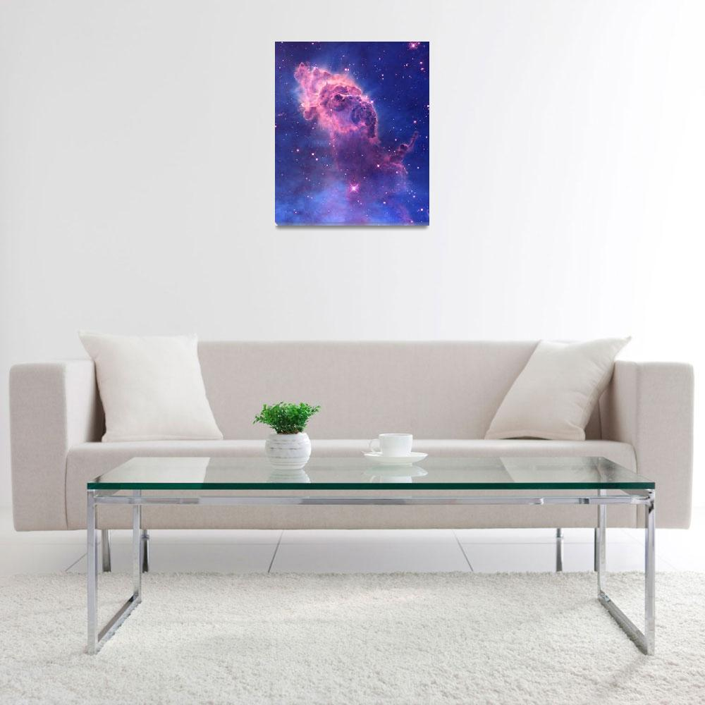 """Carina Nebula Enhanced&quot  by TheNorthernTerritory"