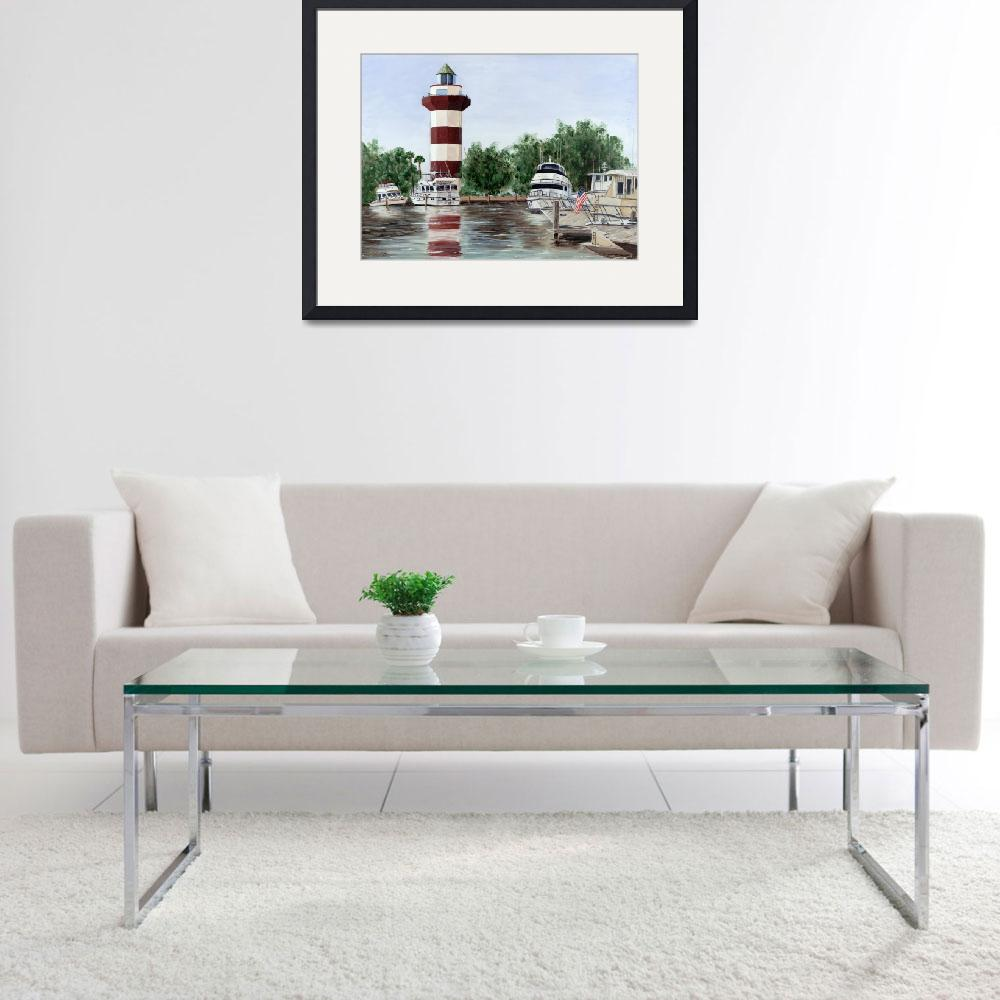"""Harbour Town Light""  by Randall"