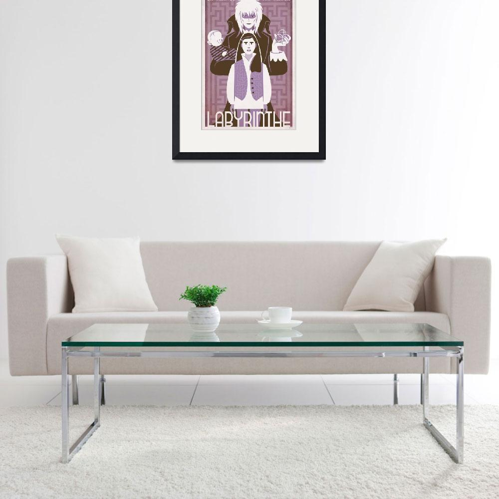 """""""LABYRINTH lavender french&quot  (2010) by TravisPitts"""