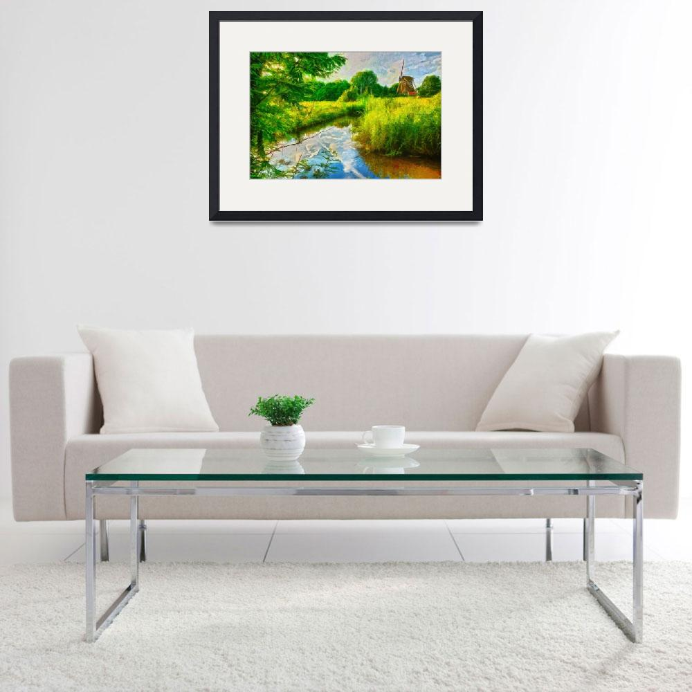 """""""Farinacci Collection Framed Print&quot  by buddakats1"""