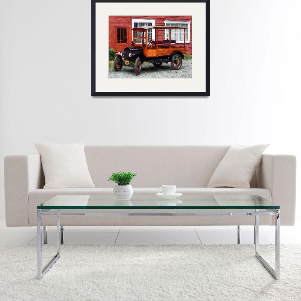 """""""Model T Station Wagon&quot  by susansartgallery"""