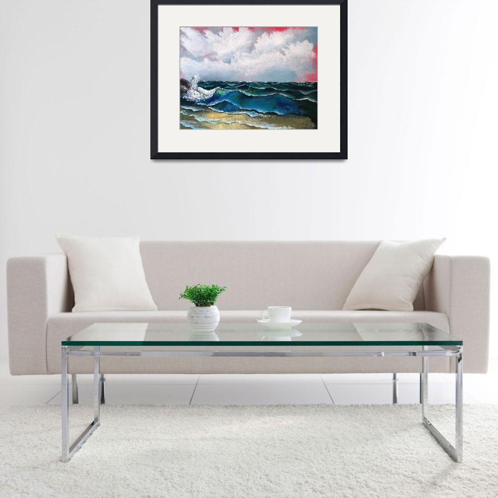 """""""Seascape&quot  (2009) by galina"""