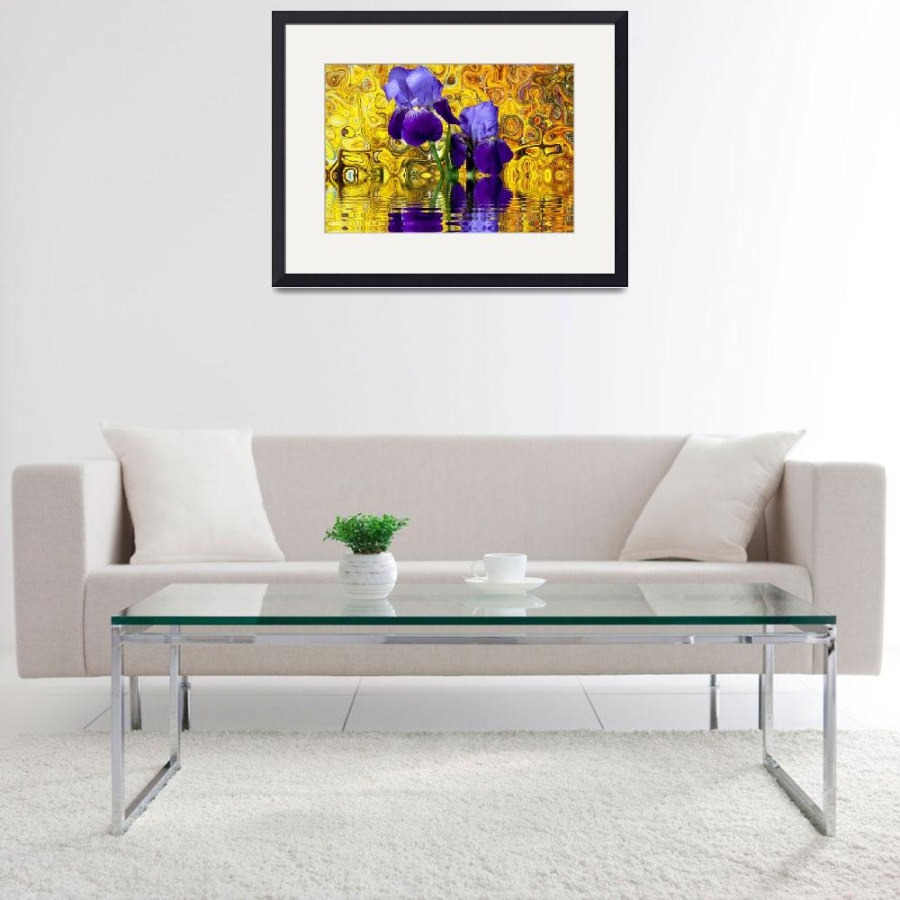 """""""Crazy Flowers Collection Framed Print&quot  by buddakats1"""